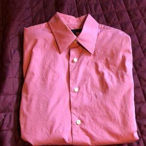 Express perfect condition L/S shirt.  Salmon. EUC